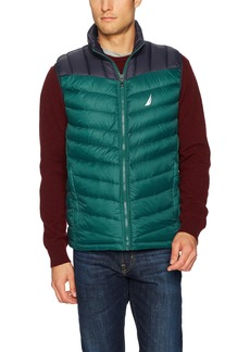 Nautica Men's Light Weight Quilted Reversible Vest