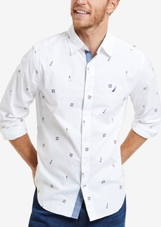 Nautica Mens Lighthouse Graphic Shirt