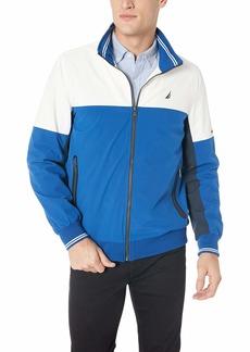 Nautica Men's Lightweight Colorblock Iconic Jacket