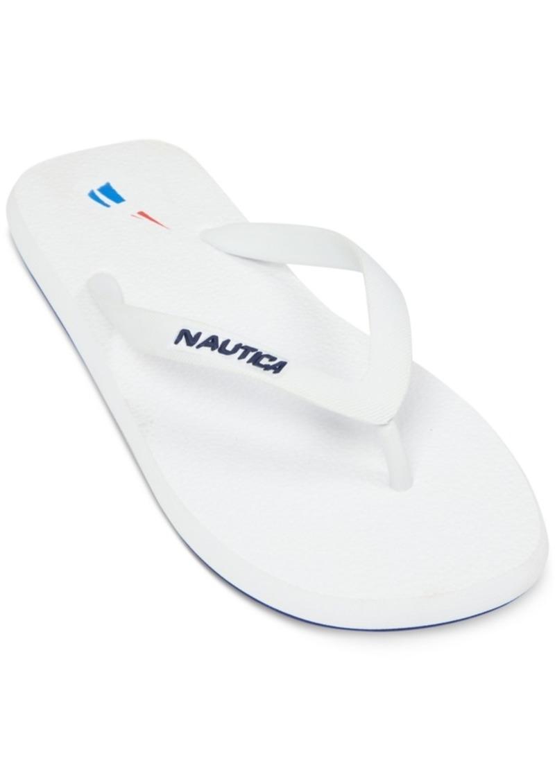 681c42ce5729 Nautica Nautica Men s Logo Flip-Flop Sandals