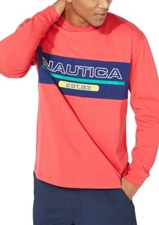 Nautica Men's Logo Graphic Shirt
