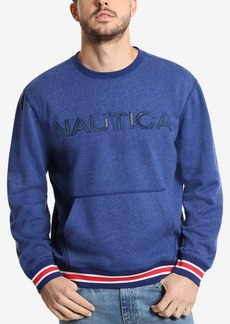 Nautica Men's Logo Pocket Sweatshirt