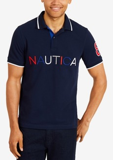 Nautica Men's Logo Polo, Created for Macy's