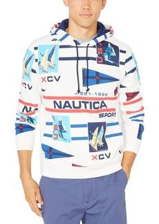 Nautica Men's Logo-Print Hoodie