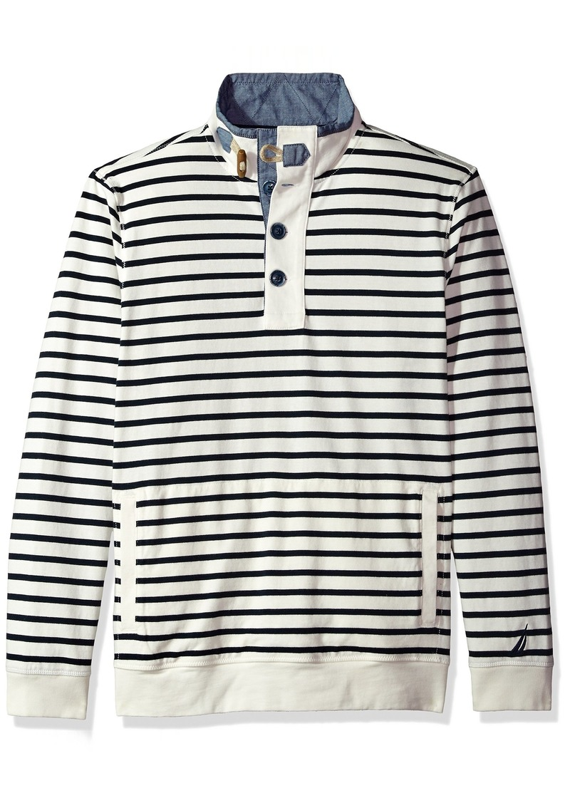 01afee2ff915db On Sale today! Nautica Nautica Men's Long Sleeve 1/2 Button Down ...