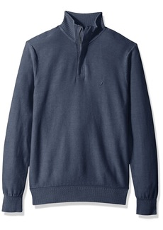 Nautica Men's Long Sleeve 1/4 Zipper Medium Weight Sweater  3X-Large