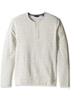 Nautica Men's Long Sleeve Active Fit Henley Shirt