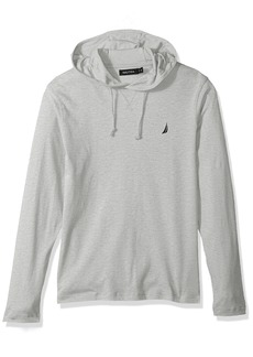 Nautica Men's Long Sleeve Classic Fit Jersey Hoodie T-Shirt