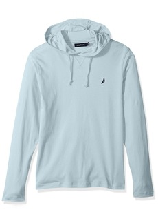 Nautica Men's Long Sleeve Classic Fit Jersey Hoodie Tshirt