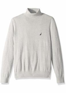 Nautica Men's Long Sleeve Classic Turtle Neck Sweater