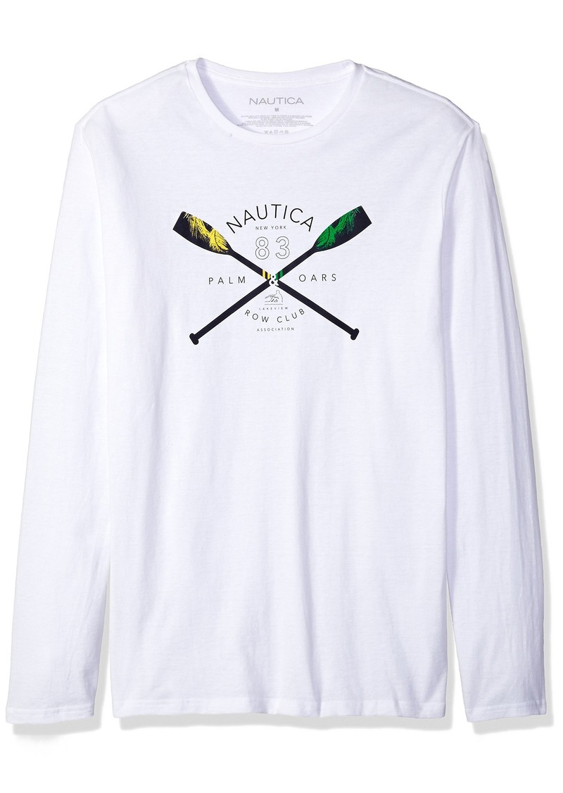 2cb5d1383a15 Men's Long Sleeve Crew Neck Graphic T-Shirt. Nautica. $21.46-$28.50. from Amazon  Fashion