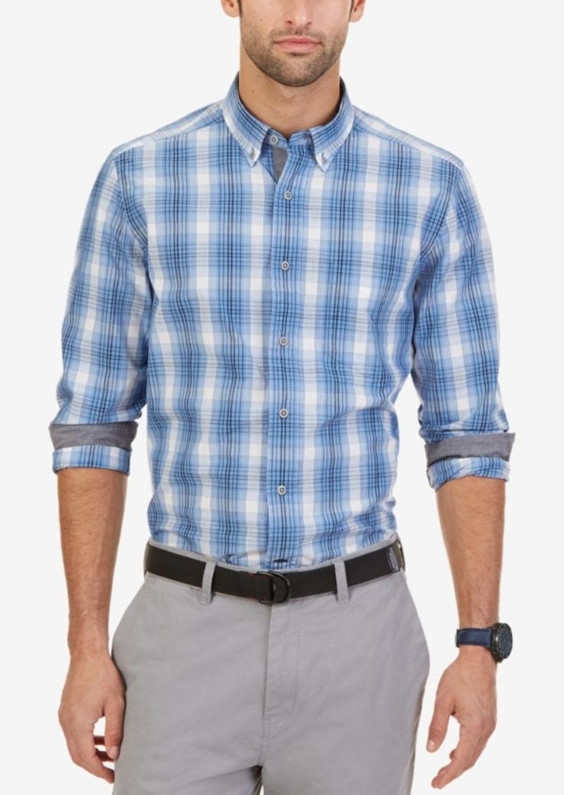 Nautica Men's Long-Sleeve True Plaid Shirt