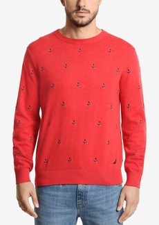 Nautica Men's Maritime Embroidered Sweater