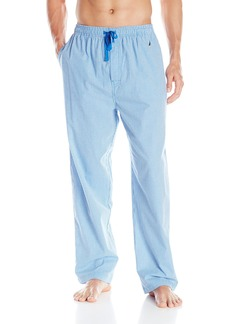 Nautica Men's Mini Check Woven Sleep Pant