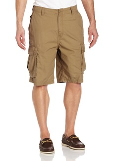 Nautica Men's Mini Ripstop Twill Cargo Short Shorts Tuscany tan 34W