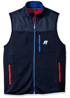 Nautica Men's Mix Media Tech Vest