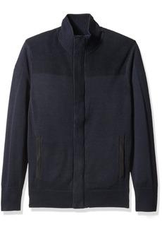 Nautica Men's Multi-Texture Cardigan  L