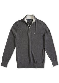 Nautica Men's Navtech Classic-Fit 1/4-Zip Sweater