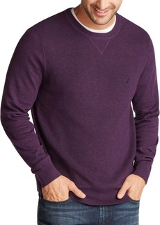 Nautica Men's Navtech Crewneck Solid Sweater