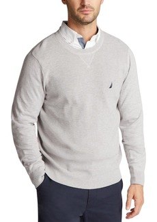 Nautica Men's Navtech Solid Sweater