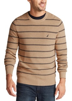 Nautica Men's Navtech Striped Sweater