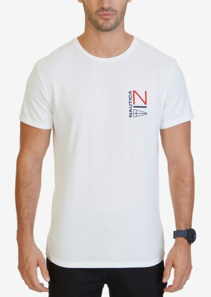 Nautica Men's NS83 Sailing Logo Heritage Graphic T-Shirt