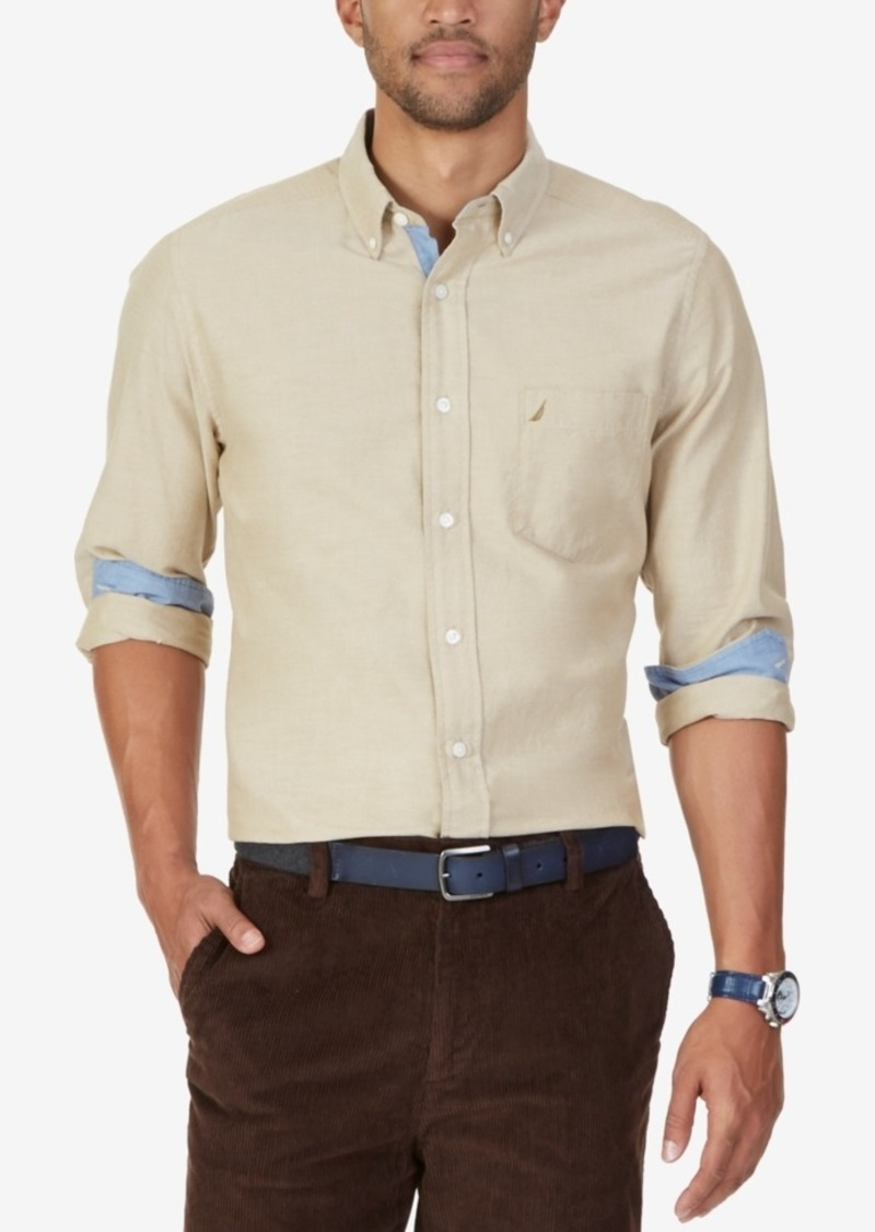 Nautica Men's Oxford Long-Sleeve Shirt