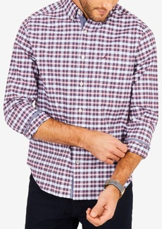 Nautica Men's Oxford Plaid Shirt