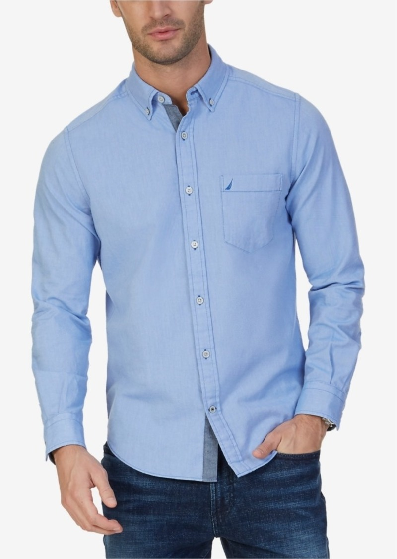 Nautica Men's Big & Tall Oxford Shirt
