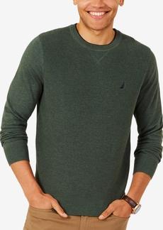 Nautica Men's Performance Crew-Neck Classic Fit Sweater