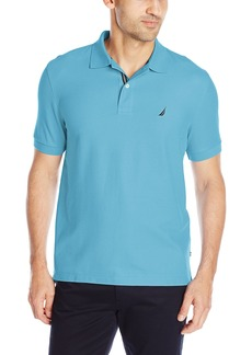 Nautica Men's Performance Pique Polo Shirt