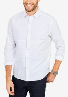 Nautica Men's Pieced Classic Fit Shirt