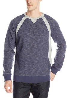 Nautica Men's Pieced Crew Sweatshirt