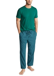 Nautica Men's Plaid Pajama Set