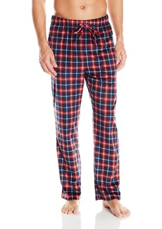 Nautica Men's Plaid Sueded Fleece Pant