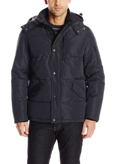 Nautica Men's Polyester Hooded Parka  M
