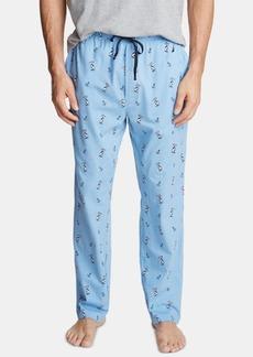 Nautica Men's Printed Cotton Pajama Pants