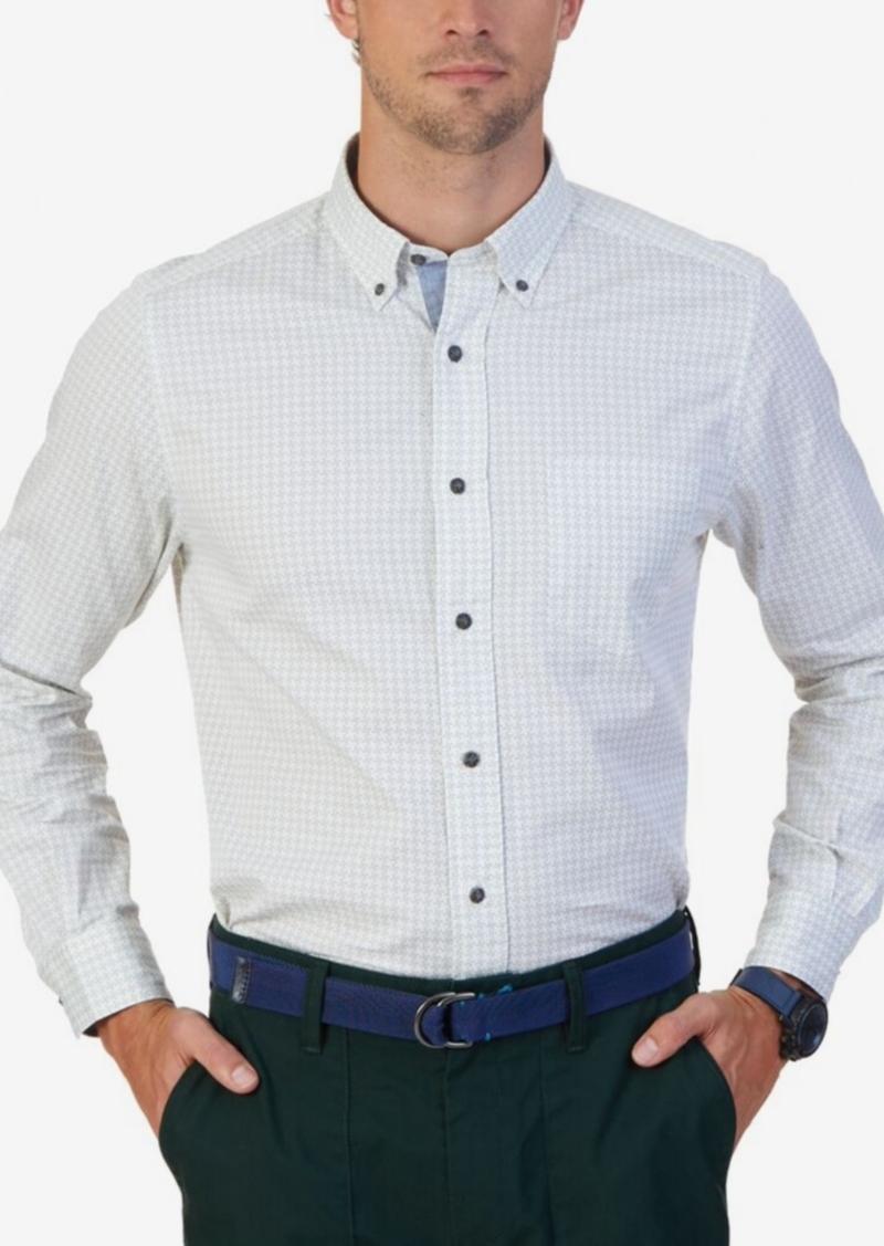 Nautica Men's Printed Twill Shirt