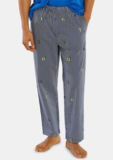 Nautica Men's Printed Woven Cotton Pajama Pants