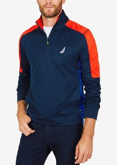 Nautica Men's Quarter-Zip Performance Pullover