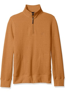 Nautica Men's Quarter-Zip Pullover  L