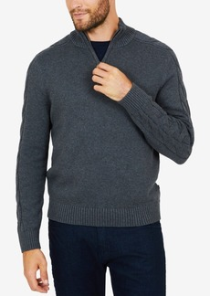 Nautica Men's Quarter-Zip Sweater