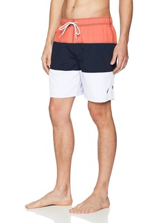 Nautica Men's Quick Dry Color Block Swim Trunk (t71007)  XX-Large