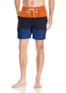 Nautica Men's Quick Dry Colorblocked Swim Trunk
