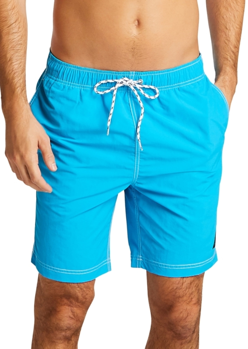 "Nautica Men's Quick Dry Nylon 8"" Swim Trunks"
