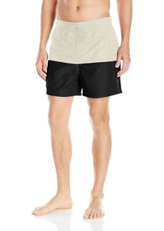 Nautica Men's Quick Dry Pieced Color Blocked Swim Trunk
