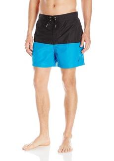 Nautica Men's Quick Dry Pieced Color Blocked Swim Trunk