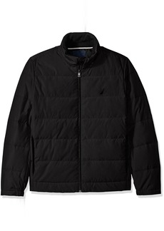Nautica Men's Quilted Down-Blend Jacket  XL