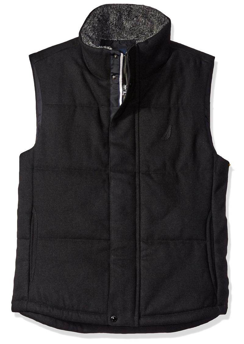 Nautica Men's Quilted Wool Vest  S