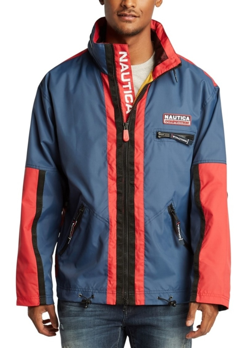 Nautica Men's Reissue Logo Graphic Jacket